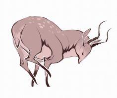 sketchbet:  51. A deer. :B ✤ || CHARACTER DESIGN REFERENCES | キャラクターデザイン || ✤