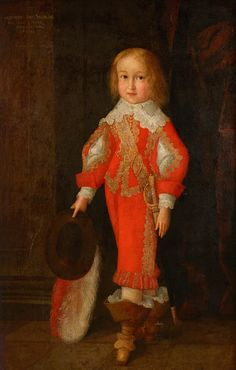 CHristian Eduard Franke Antiquitäten  www.franke-kunsthandel.de  Portrait of Bernhard of Saxe-Jena (1638-1678)   His parents were Wilhelm Duke of Saxe-Weimar  & Eleonore Dorothea of Anhalt-Dessau – House of Ascania - Oil on canvas -  Christian Richter, 1643  Come and see for yourself at the Bamberg Art and Antiques Fair 2016 www.bamberger-antiquitaeten.de