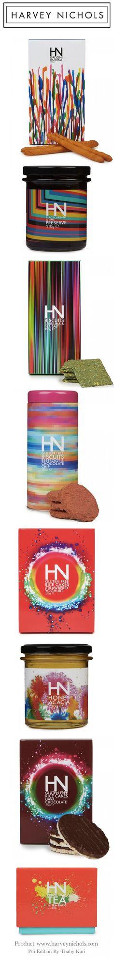 HARVEY NICHOLS GROCERY #packaging