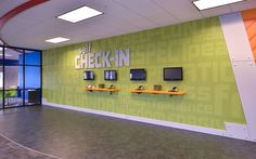 I would want kids staff close by to welcome.Kids Ministry Check-In Station Designs - Worship Facilities Magazine- the self part Kids Church Decor, Kids Church Rooms, Church Nursery, Church Ideas, Church Decorations, Children Church, Kids Room, Youth Rooms, Kids Decor