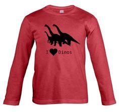 Dinos Langarm T-Shirt von ClaudioCrissi auf Etsy