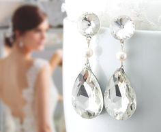 Braut Ohrringe Hochzeit Ohrringe Hochzeit von goddessdesignsgems, $38.00