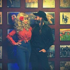 Howdy from Dolly Parton and Willie Nelson