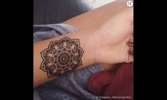 2 Mandala Temporary Tattoos Smashtat By Smashtat On Etsy 7 00