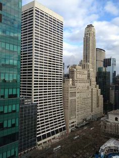 I work in the tan Art Deco building to the right of the picture...right across from Bryant Park!