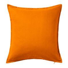 IKEA - GURLI, Tyynynpäällinen, Vetoketjun ansiosta päällinen on helppo irrottaa.