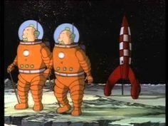 ▶ De Avonturen van Kuifje - 15. Mannen op de Maan - YouTube