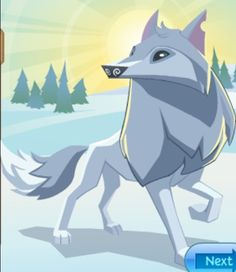 Animal jam ARTIC WOLVES