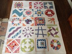 Looking for quilting project inspiration? Check out BOM 2012 Quilted Sampler by member a1angiem. - via @Craftsy