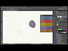 2. Watercolor Painting In Photoshop (including all tools, brushes, papers etc). Video 2