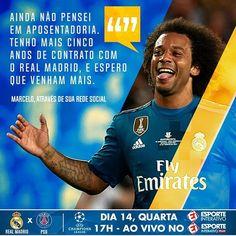 Mais alguém aí gostou dessa notícia? 🤔  Os fãs do futebol agradecem, Marcelo! 👏🔥👏