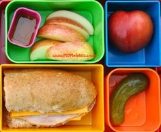 MOMables fresh school lunch menus by subscription...