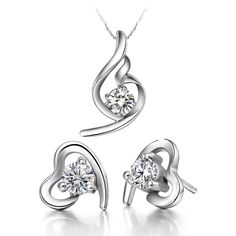 Find More Jewelry Sets Information about Statement Necklace Earrings Engagement Heart Jewelry Sets,Exquisite White Purple Rhinestone Cubic Zirconia Silver Necklace T020,High Quality jewelry boots,China jewelry clip art free Suppliers, Cheap jewelry patch from ULove Fashion Jewelry Store on Aliexpress.com