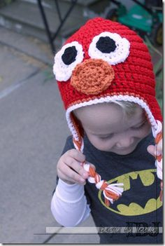 free red monster crochet pattern