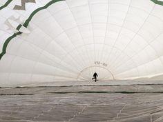 Bald sind wir #startklar  #heißluftballon