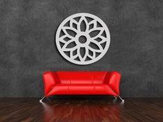 Mandalas Pintadas Mdf P/ Decoração - Quarto/sala/escritório
