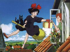 Kiki's Delivery Service [魔女の宅急便 Majo no Takkyūbin] (Hayao Miyazaki, 1989)