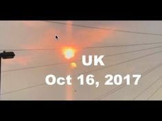 BLAZING RED SUN- LOOKS LIKE NAVY RED BALL COMMERCIAL!! PLANET X BEHIND IT? Germany October 17, 2017 - YouTube