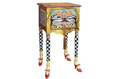 Buy Toms Drag Chest Versailles from Casa Zeytin Funky Painted Furniture, Unusual Furniture, Painted Chairs, Nice Furniture, Furniture Ideas, Tahiti, Baroque, Outdoor Table Tops, Dresser Table
