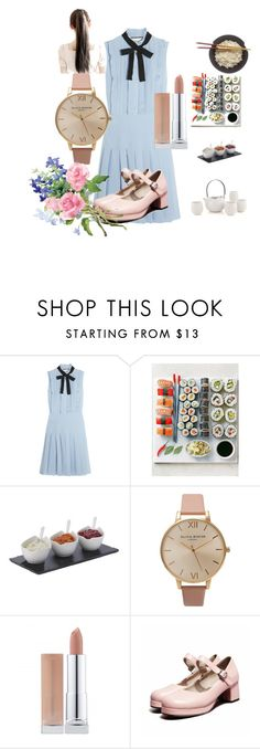 """""""Sushi Day"""" by merveavci on Polyvore featuring moda, Gucci, Fitz & Floyd ve Olivia Burton"""
