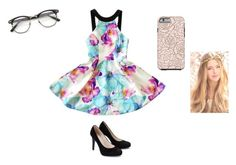 """""""fℓσяαℓ fяєиzу"""" by fashionista14577 ❤ liked on Polyvore"""