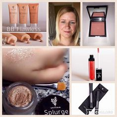 Me! Using the fabulous Younique ❤️