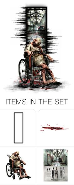 """""""Silent Hill: Downpour - Wheelman"""" by girlinthebigbox ❤ liked on Polyvore featuring art, videogames, SilentHill and survivalhorror"""
