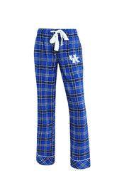 Kentucky Womens Flannel Blue Sleep Pants