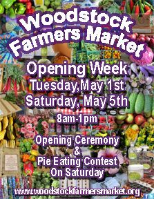 I can't wait to get back to shopping at the Woodstock Farmers Market and enjoying all of that fresh produce. The market is located at the Historic Woodstock Square in Woodstock, IL.
