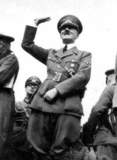 Hoffmann collection. Adolf Hitler at Airbase Jaroslaw. Heinrich Hoffmann (September 12, 1885 – December 11, 1957) was a German photographer best known for his many published photographs of Adolf Hitler. Hoffmann worked in his father's photographic shop and as a photographer in Munich from 1908.He joined the NSDAP in 1920 and was chosen by its new leader Hitler as his official photographer.