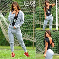 f13af8219db Conjuntos Deportivos para Mujer · 💪Ropa Deportiva Innovadora, Moderna y  Original Conjunto de Body, Chaqueta y Jogger Chaqueta