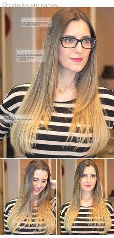 cabelos luzes