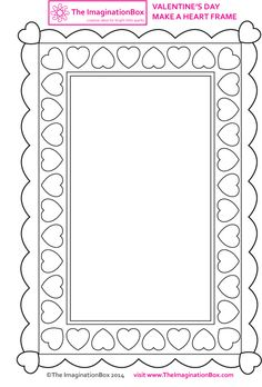 Make a frame for someone you love, free template