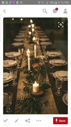 Christmas table centerpieces - Holiday Pinspiration Throw The Ultimate Christmas Soiree – Christmas table centerpieces Noel Christmas, Rustic Christmas, Simple Christmas, Elegant Christmas, Woodland Christmas, Christmas Ideas, Natural Christmas Tree, Real Christmas Tree, Christmas Candles