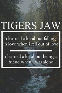Never Saw It Coming | Tigers Jaw
