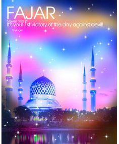 Early Morning Prayer Fajar Namaz