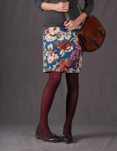 Everyday Cord Skirt - Boden USA