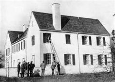 Home of were 20-month-old Charles Lindbergh Jr. was kidnapped from the second floor nursery on March 1, 1932. The baby's body was found two months later.