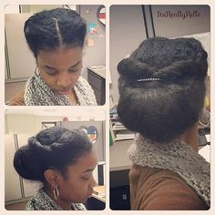 Protective Styles The Best Way to Save Your Hair Protective Hairstyles For Natural Hair, Natural Hair Updo, Natural Hair Journey, Natural Hair Styles, Black Hair Protective Styles, Professional Natural Hairstyles, African Hairstyles, Afro Hairstyles, Black Hairstyles