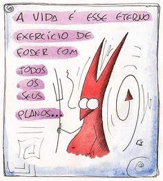 Exercícios diários.  #capirotinho #seugetulio #fadaoutono #tirinha #quadrinhos #tirinhas #ilustração #desenho #desenhar #nanquim #aquarela #arte #belohorizonte #pampulha #ccxp #arteindependente #ccxp2016 #instagrambrasil #charge #fanzine #quadrinhosindependentes #escrever