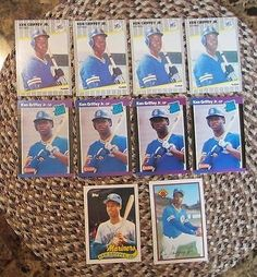 nice 1989 Fleer Donruss Topps Bowman Ken Griffey Rookie Card Lot of 10 - For Sale View more at http://shipperscentral.com/wp/product/1989-fleer-donruss-topps-bowman-ken-griffey-rookie-card-lot-of-10-for-sale/