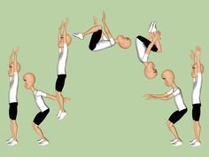 How to Do a Back Tuck -- via wikiHow.com You know, just in case I get ambitious.