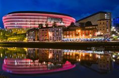 San Mamés Bilbao, David, New Football Stadiums, London Architecture, Commercial Architecture, London Photographer, Night Photography, Interior Photography, Basque Country