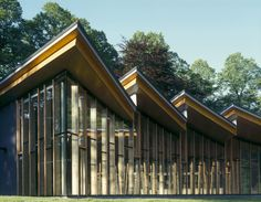 Avenham Park Pavilion, Preston, Lancashire by McChesney Architects using glulam beams, spruce plywood, Douglas Fir. Digital Commons, Preston Lancashire, Park Pavilion, Douglas Fir, Good Night, Beams, Cabin, Architecture, House Styles