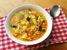 Receta de Sopa de verduras | Eureka Recetas Roast Tomato Soup Recipe, Roasted Tomato Soup, Tomato Soup Recipes, Pea Recipes, Healthy Soup Recipes, Vegetarian Recipes, Vegan Vegetable Soup, Vegetarian Ramen, Easy Chicken And Rice
