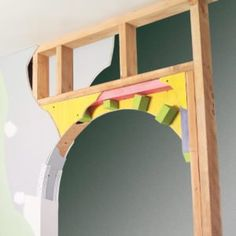 How to Build a Drywall Arch - Diy Wallart Plus Arch Interior, Diy Interior, Interior Walls, Interior Design, Round Doorway, Arch Doorway, Archways In Homes, Drywall Ceiling, Round Arch