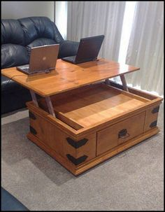 Have you ever hunched over a coffee table to use your laptop? See the benefits…