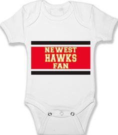 Baby Onesie Chicago Blackhawks Fan Custom Bodysuit