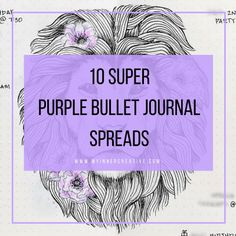 Finding the perfect Purple bullet journal theme is so fun! We have spend over two years sharing gorgeous colors for your bullet journal Bullet Journal Key, Bullet Journal Themes, Bullet Journal Spread, Bullet Journal Layout, Bullet Journals, What Is Spring, Bujo Key, Monthly Themes, Journal Inspiration