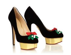 "La collection ""Jingle all the way"" de Charlotte Olympia"